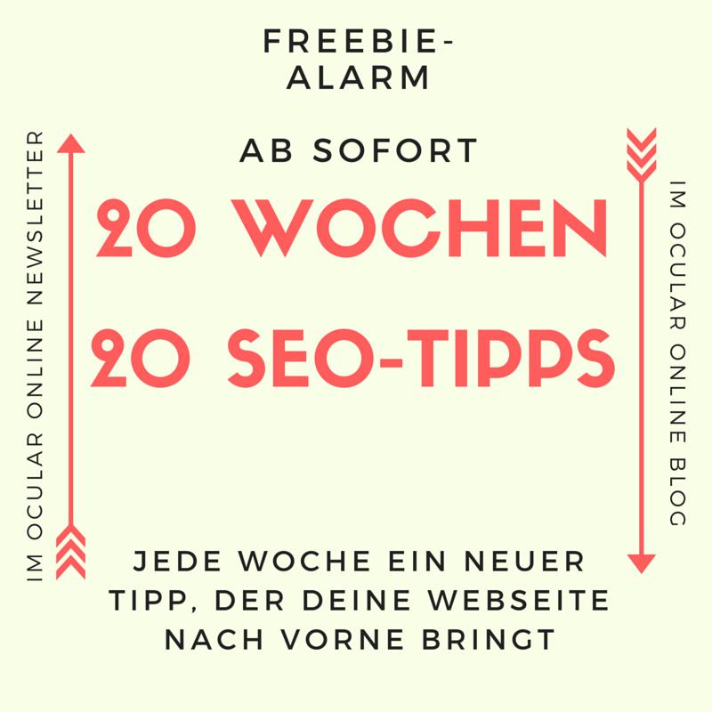 SEO Tipps von Ocular Online