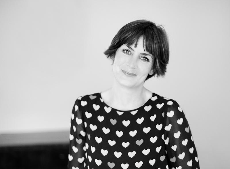Portraitfoto Franziska Walther Design schwarz-weiß für Ocular Online Interview