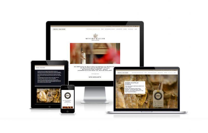 Screenshots Website, die von Ocular Online erstellt wurde, Referenz